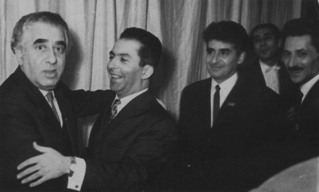 Aram Khachaturian, Konstantin Orbelian, Edward Mirzoyan, Garold El Registan