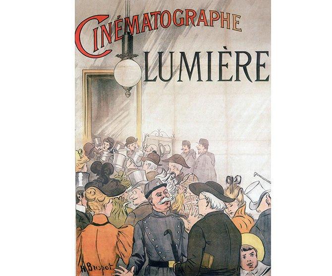 Lumiere Cinematographe, c 1900.