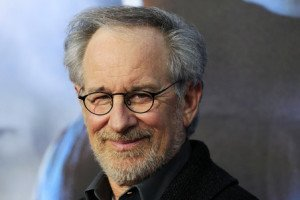 "Executive producer Steven Spielberg arrives for the world premiere of Universal Pictures motion picture ""Cowboys & Aliens"" in California"